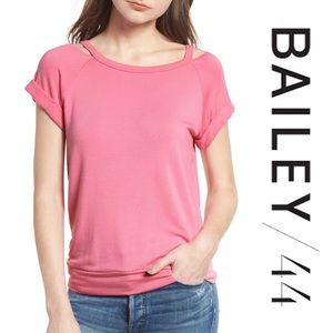 Bailey 44 forget me not top medium NWT pink